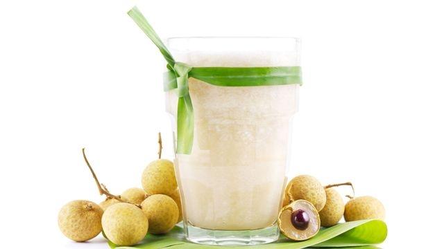 Longan Fruit Juice and Smoothie