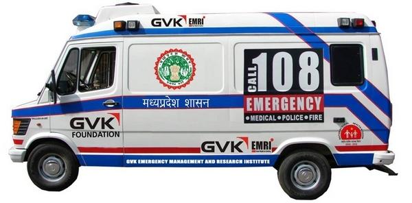Alternative Arrangement of 108 Ambulances' Staff by Health Department