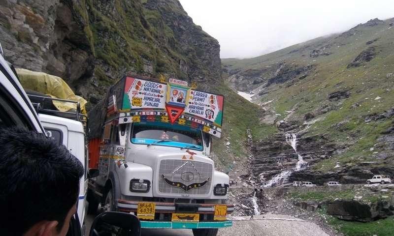 Diesel trucks to blame for pollution along Manali-Leh highway