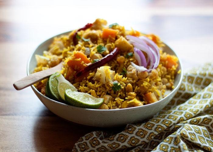 Biryani Vegetable Rice