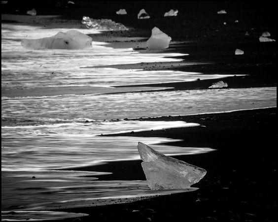 Ice is black, its black gold; says Laurent Baheux!