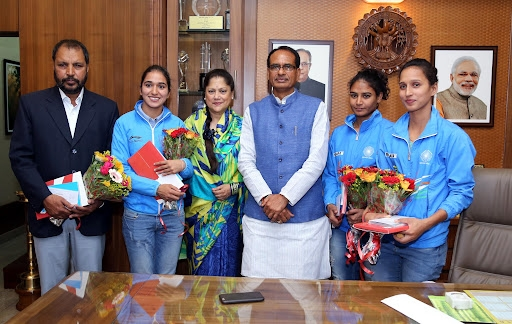 CM Chouhan will honour Indian women hockey players on September 28