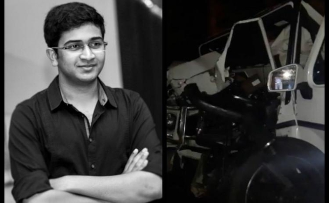 Andhra minister s son dies in Hyderabad road accident