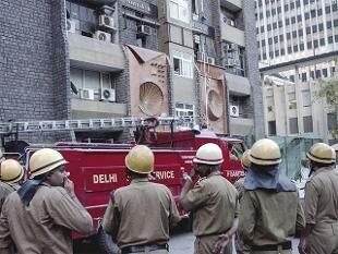 Fire in Delhi s Antriksh Bhawan