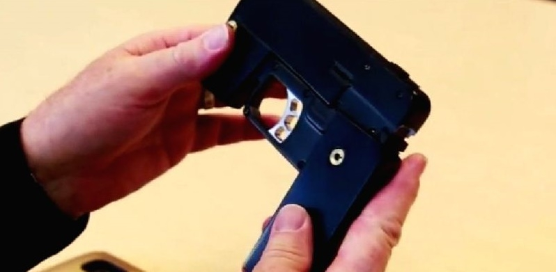 This is a real $500 gun disguised as smartphone