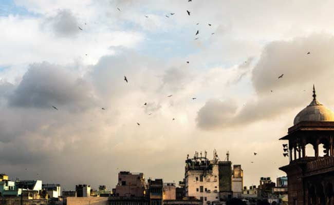 Partly cloudy Friday morning in Delhi