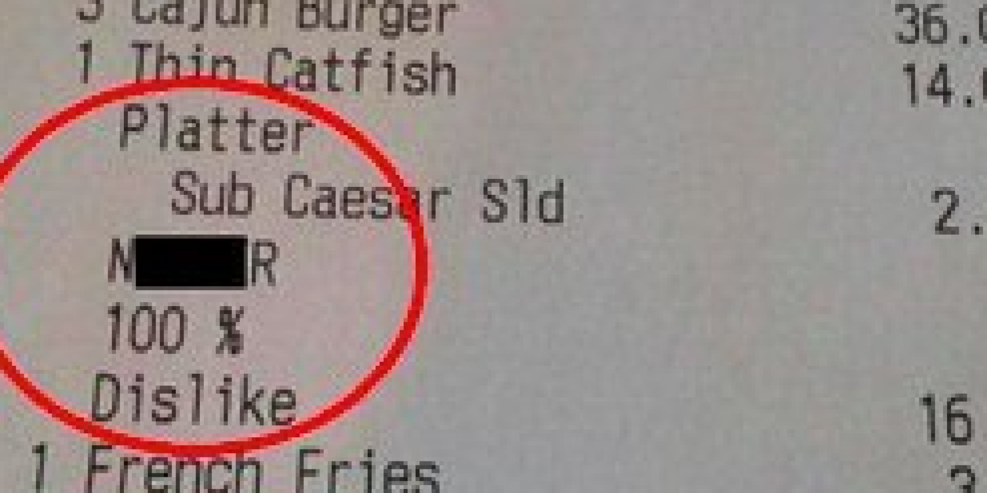 Australian restaurant fires staffer who issued receipt with racial slur