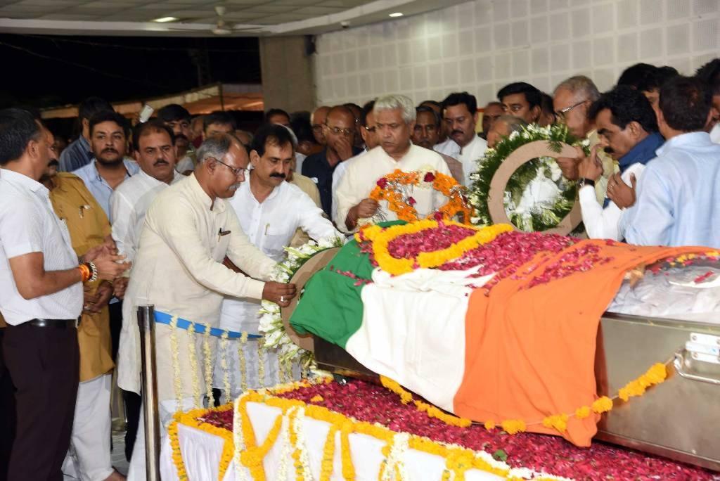 PR Minister Dr. Mishra expresses sorrow over Union MoS Shri Dave's demise