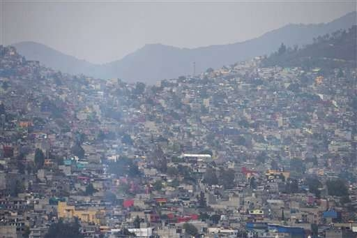 Mexico City faces worst air pollution in two decades