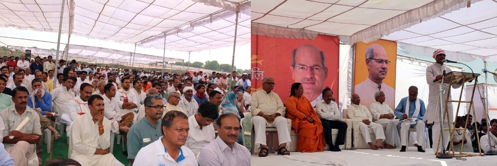 Late Dave's Narmada-Samagra work left mid-way will be completed: CM Chouhan
