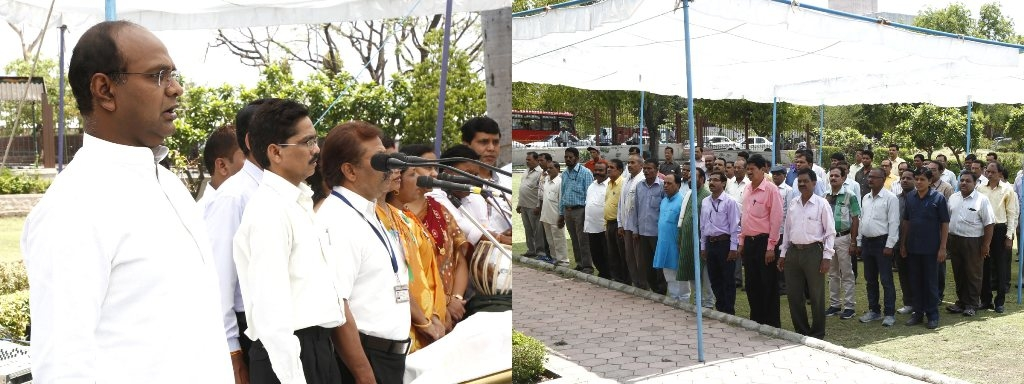 Musical Recital of National Song in Patel Park