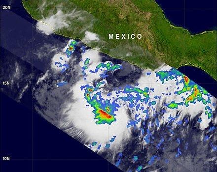 Storm Beatriz makes landfall in Mexico
