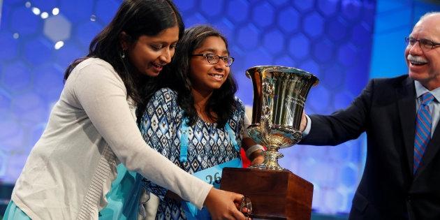 Indian-American girl wins Spelling Bee