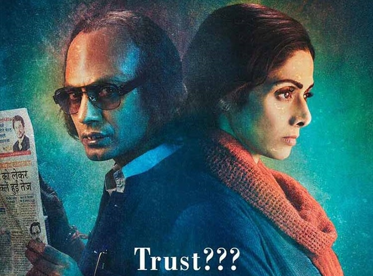 """""""MOM"""", the movie's trailer is here and at first glance, Sridevi and Nawazuddin Siddiqui has nailed it perfectly!"""