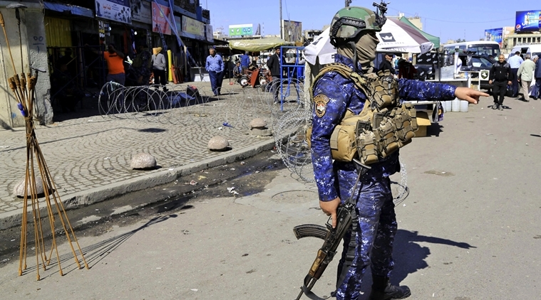 7 killed in Iraq suicide bombing