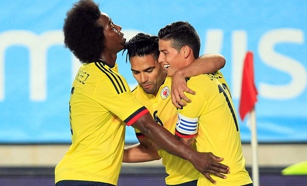 Spain, Colombia battle to 2-2 draw in friendly