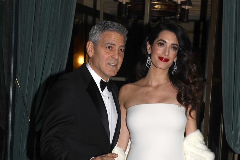 Paranoid Parents, George and Amal Hires Bodyguards for their twins.