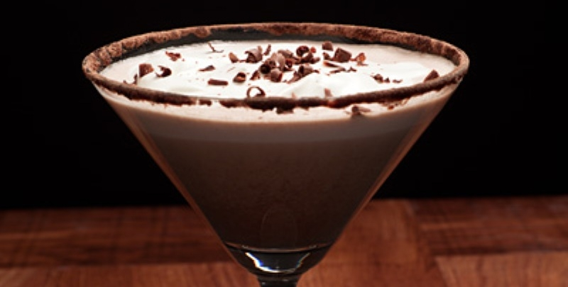 Chocolate Vanilla  Martini