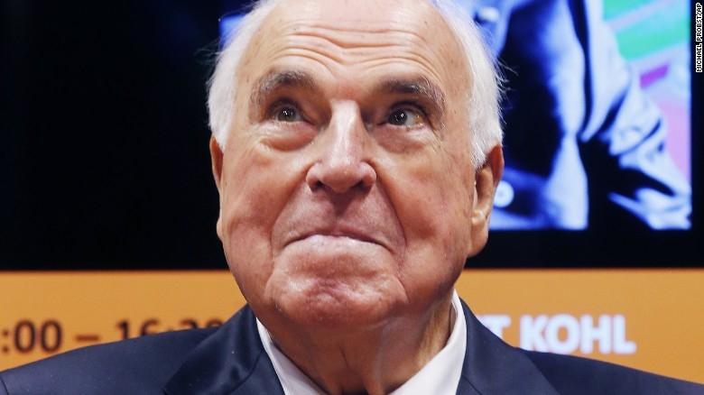 Unifier of Germany, integrator of Europe, Helmut Kohl dead (Lead, Changing dateline)