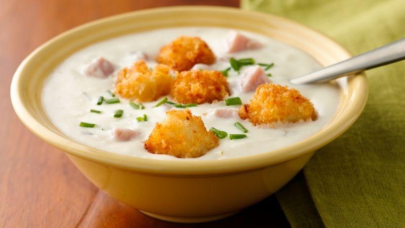 Easy Chicken Cordon Bleu Soup