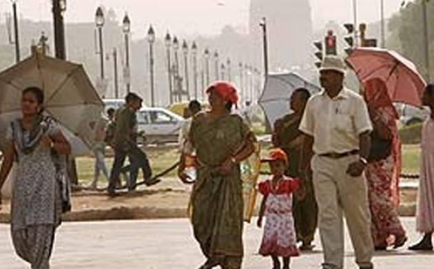 Mercury rises in Delhi on Sunday, rain likely on Monday (Lead)