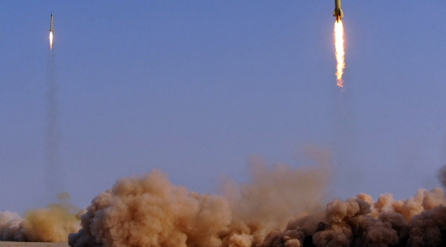 Iran launches missile attack on  terrorists  in Syrian city