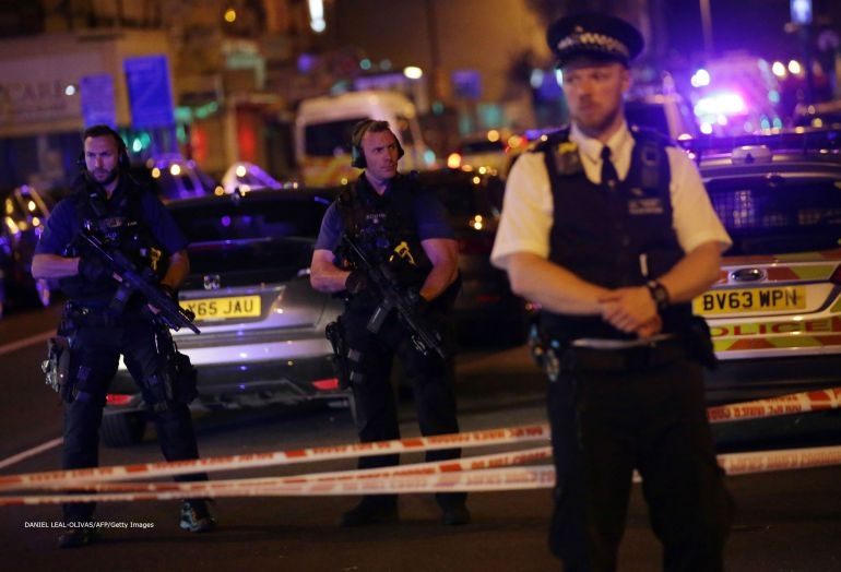 Vehicle strikes pedestrians in London, several injured