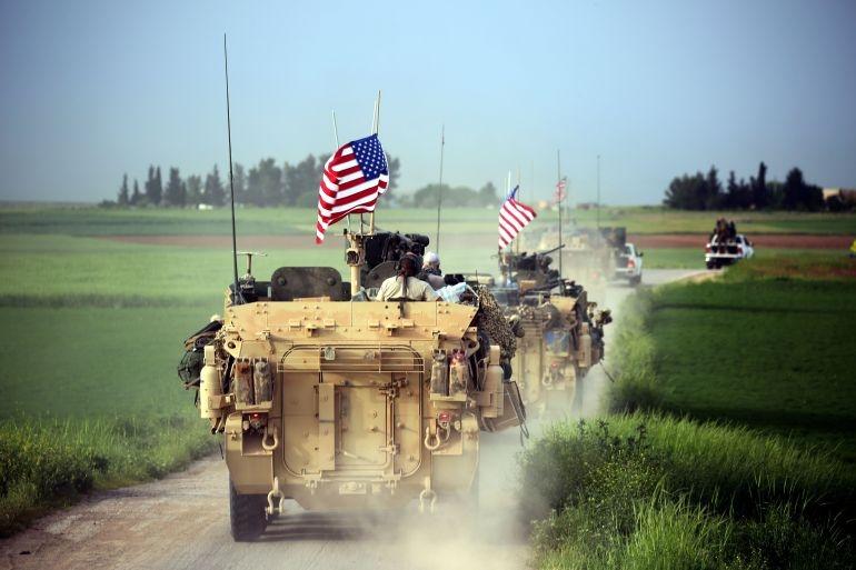 US-led coalition downs Syrian warplane