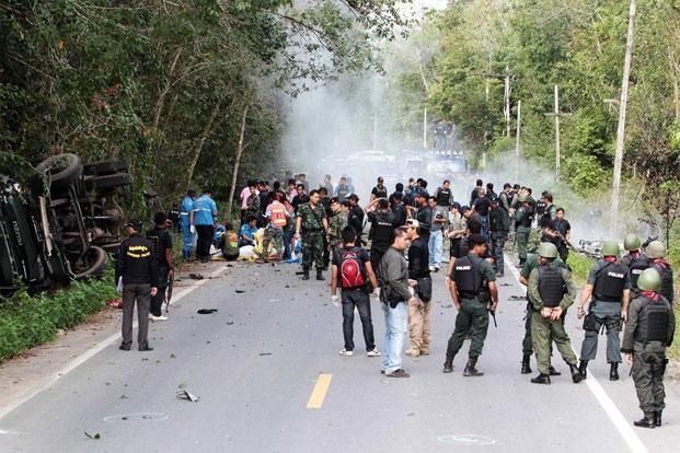 Five soldiers killed in Thailand