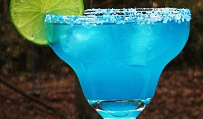 Blue Curacao Shots