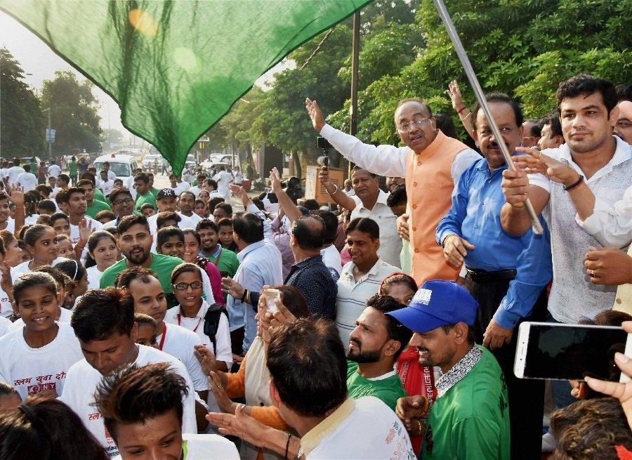Government holds 3rd  Slum Yuva Daud  (Lead)