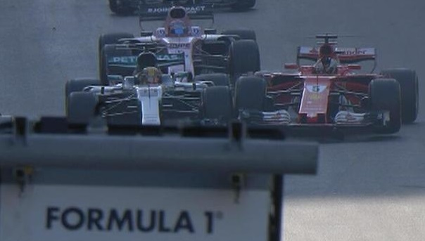 Lewis Hamilton and Sebastian Vettel feuding hard from racing track to off the track!