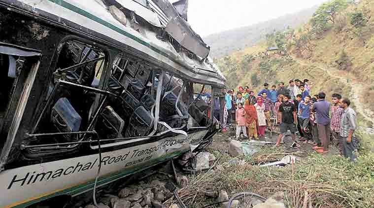 Seven killed in Himachal road accident
