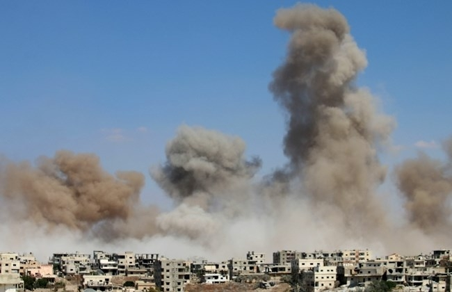 57 killed in US-led airstrikes against IS in Syria