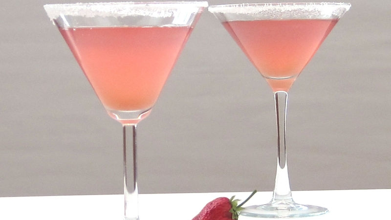 Rhubarb Pie Martini