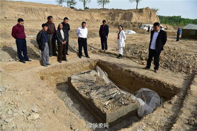 3,000-year-old tombs excavated in China