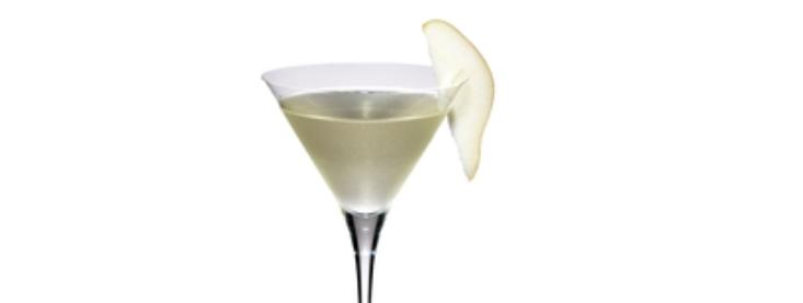 Spiced Martini Pear