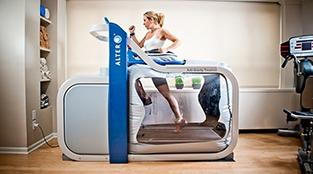 Anti-gravity treadmill may boost confidence post knee surgery