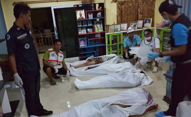8 shot dead in Thailand village chief s home