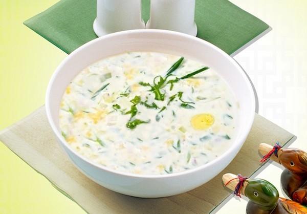 Milky Vegetabel Soup