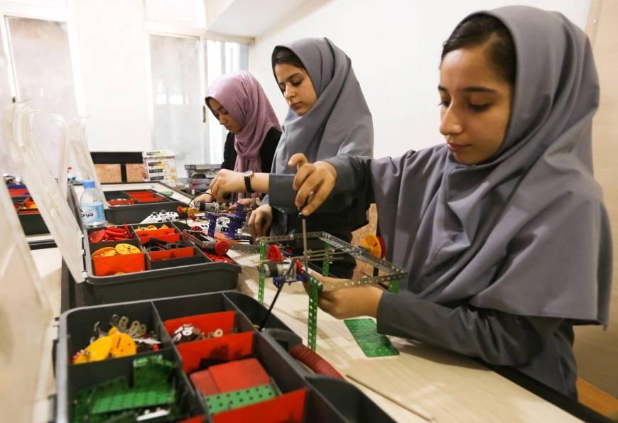 Afghan team gets US visa for global robotics competition