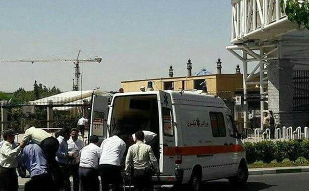 Two injured, attacker killed in Iran attack
