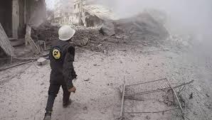 8 civilians killed in Syria airstrikes