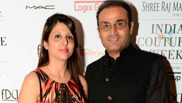 Virendra Sehwag shows his humorous side as he shares a husband's plight in a hilarious way!