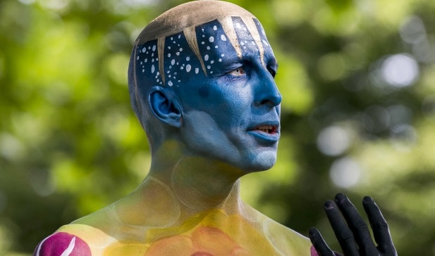 The world body painting festival, Austria!(courtesy: Getty Images)