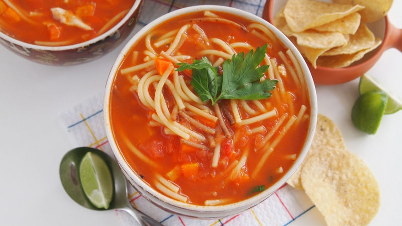 Mexican Fideo Soup
