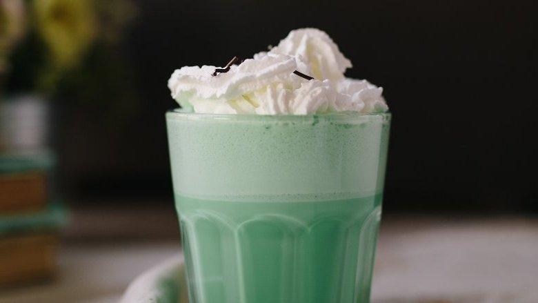 Shamrock Shakes whipped Cream