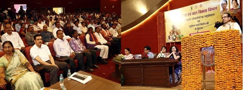 Work with mission to free state of malnutrition: CM Chouhan
