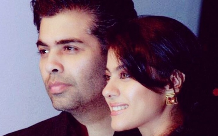 KJO rocks, Karna Johar  and Kajol are back together.