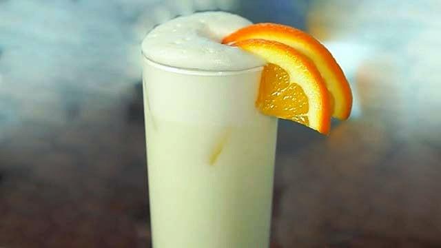 Ramos Gin Fizz with Orange Flower Water